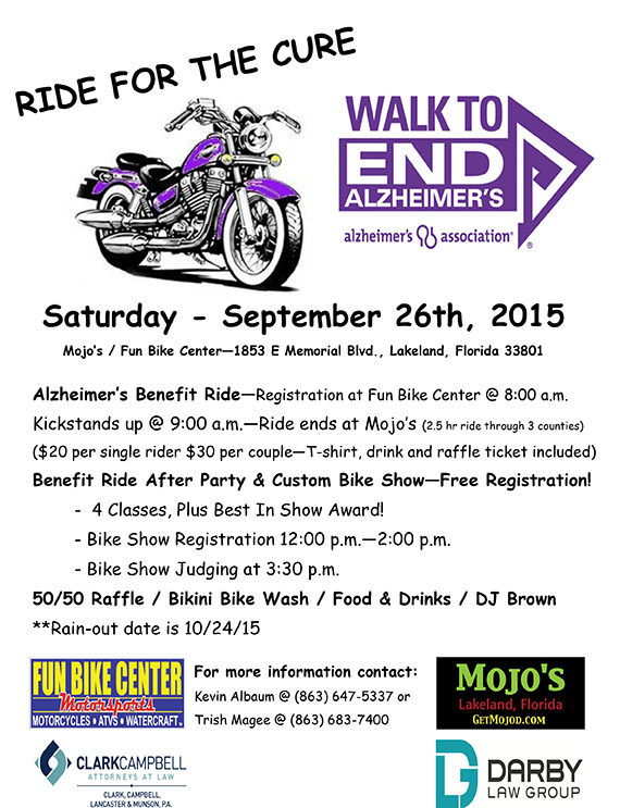 Ride For A Cure-Flyer