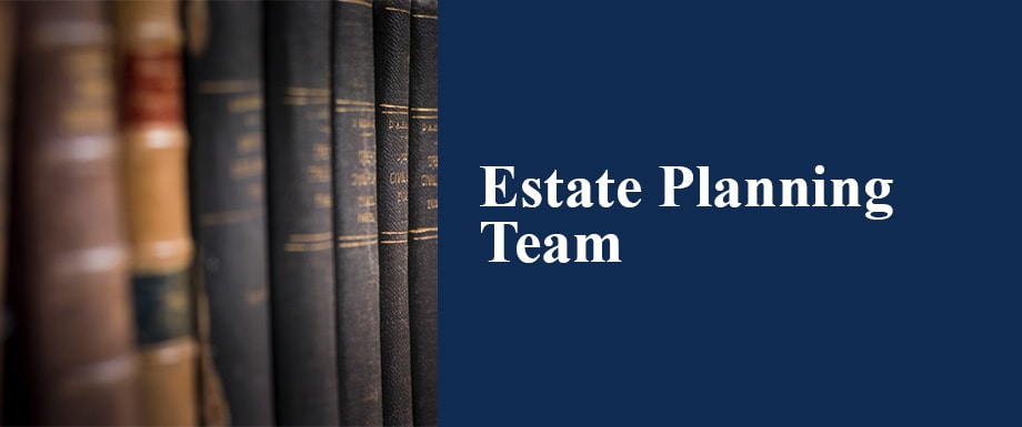Estate planning Team Button
