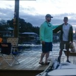 Attorneys at the boat dock